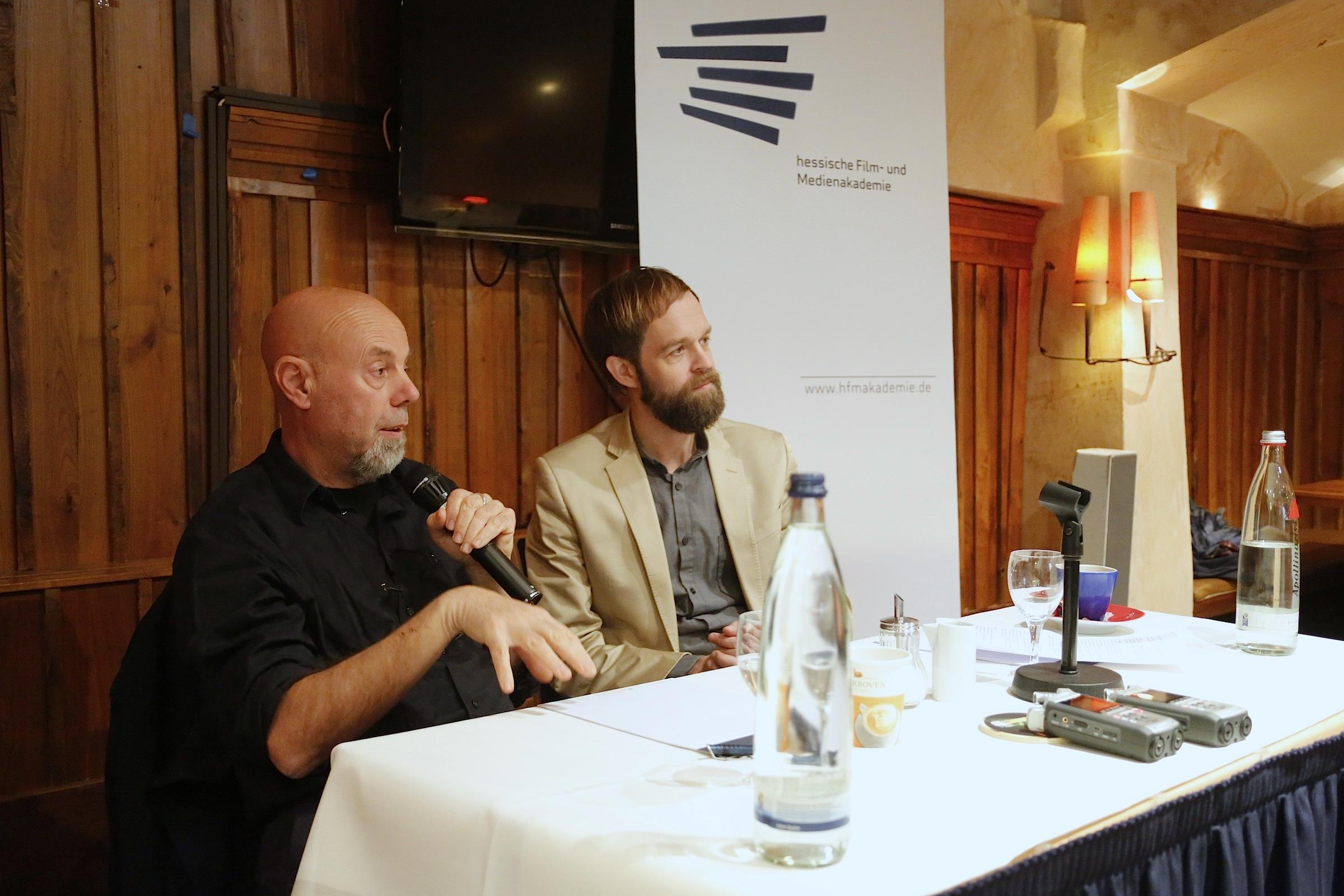 Luca Bigazzi im Gespräch mit Malte Hagener © Achim Friederich