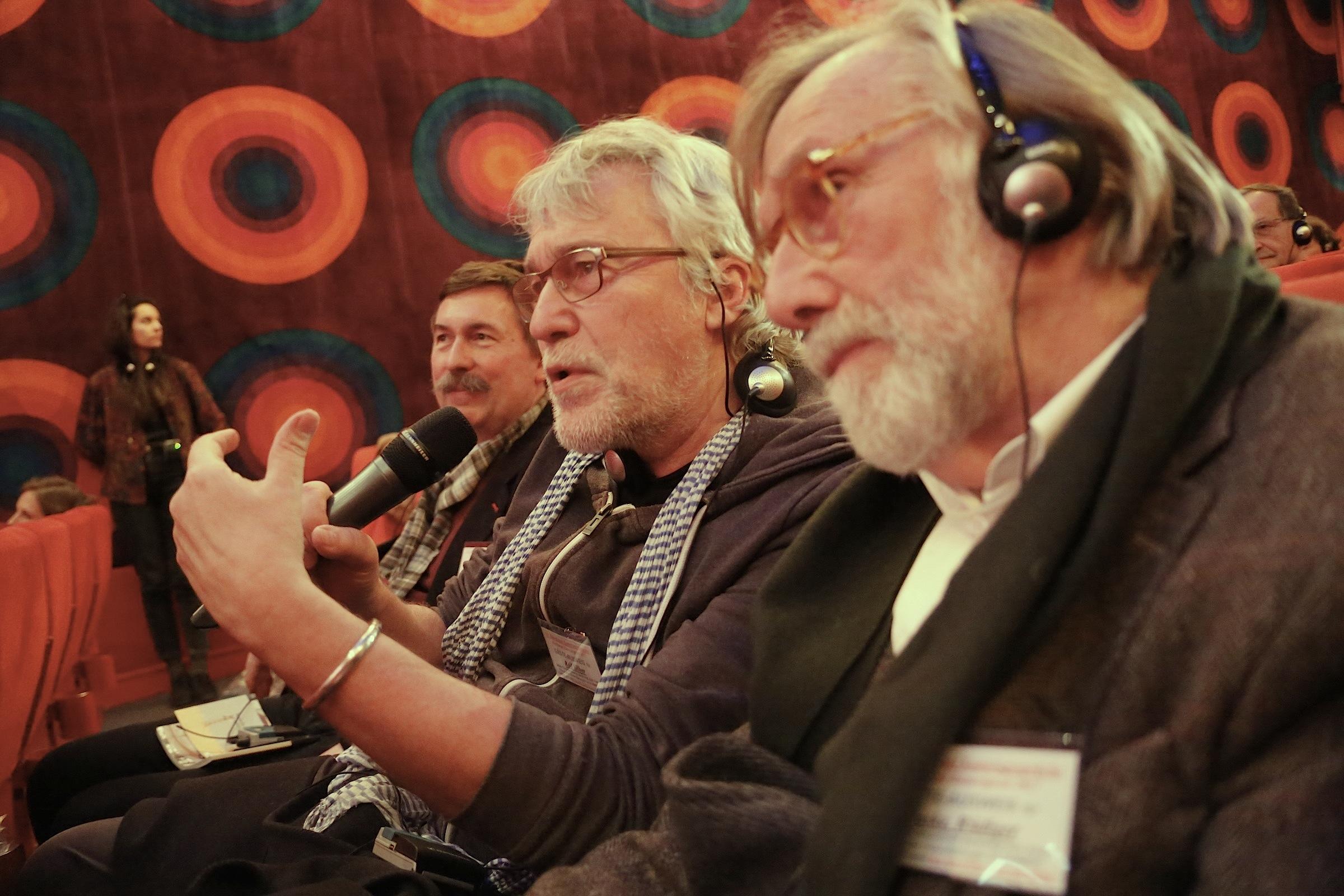 Michael Neubauer, Rolf Silber und Rüdiger Laske (v.l.n.r.) © Achim Friederich