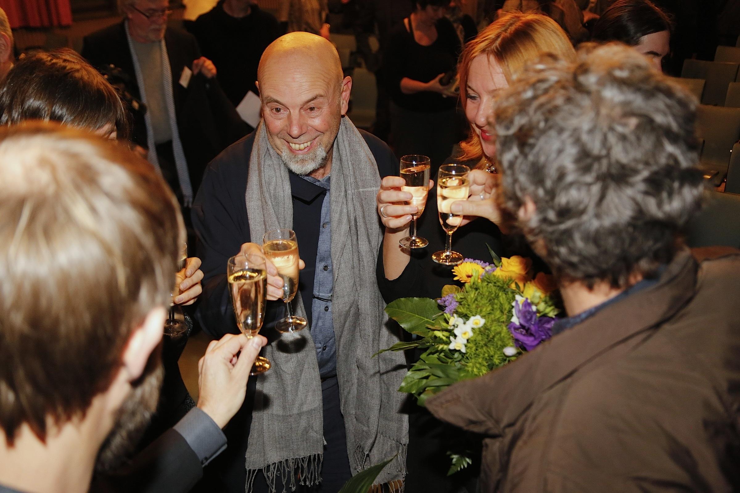 Luca Bigazzi nach der Verleihung des Marburger Kamerapreises 2017 © Achim Friederich