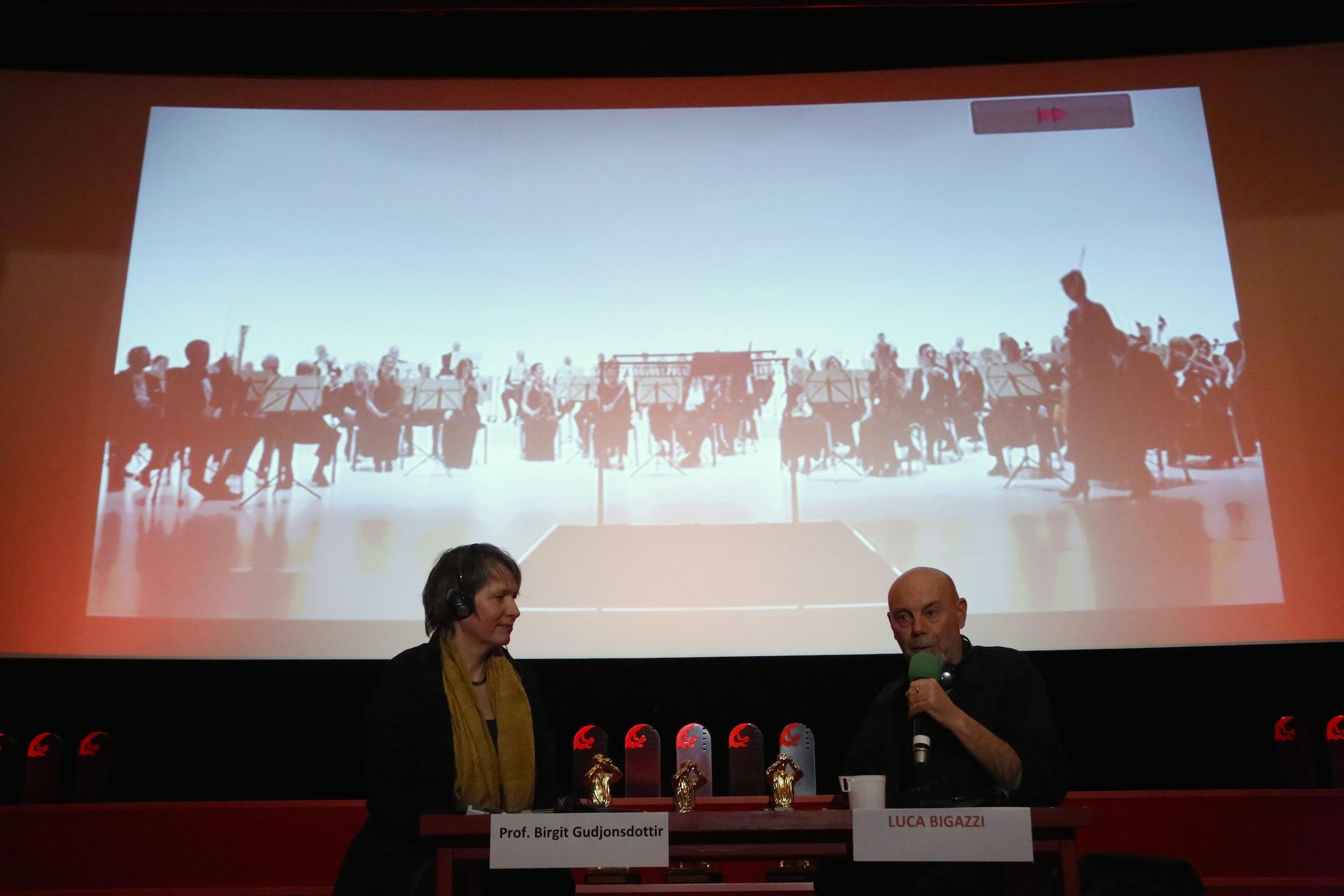 Luca Bigazzi im Gespräch mit Birgit Gudjonsdottir @ Achim Friederich